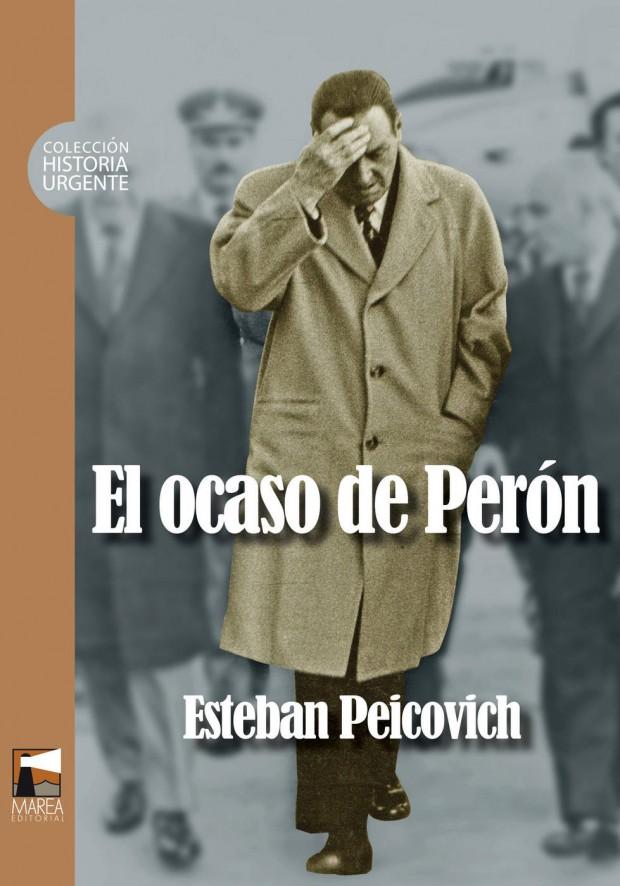 Portada El ocaso de Perón